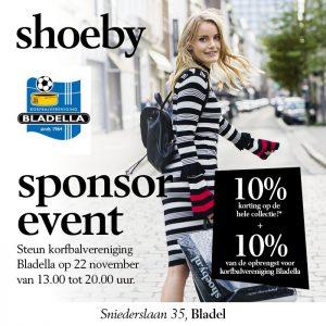 Sponsor Shoeby Event