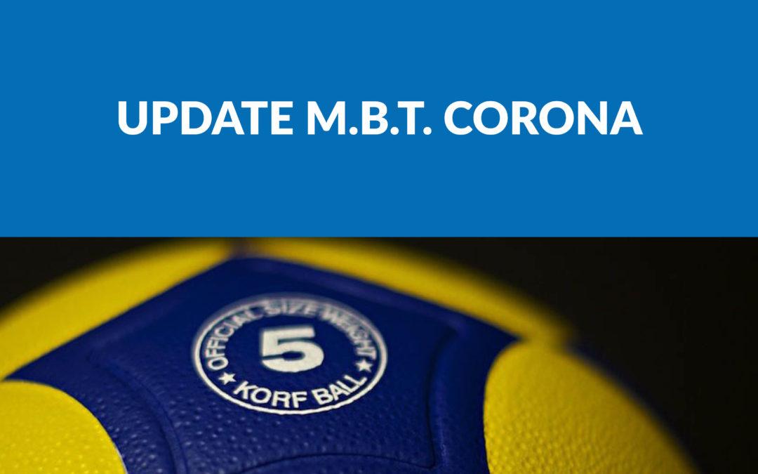 Update m.b.t. Corona