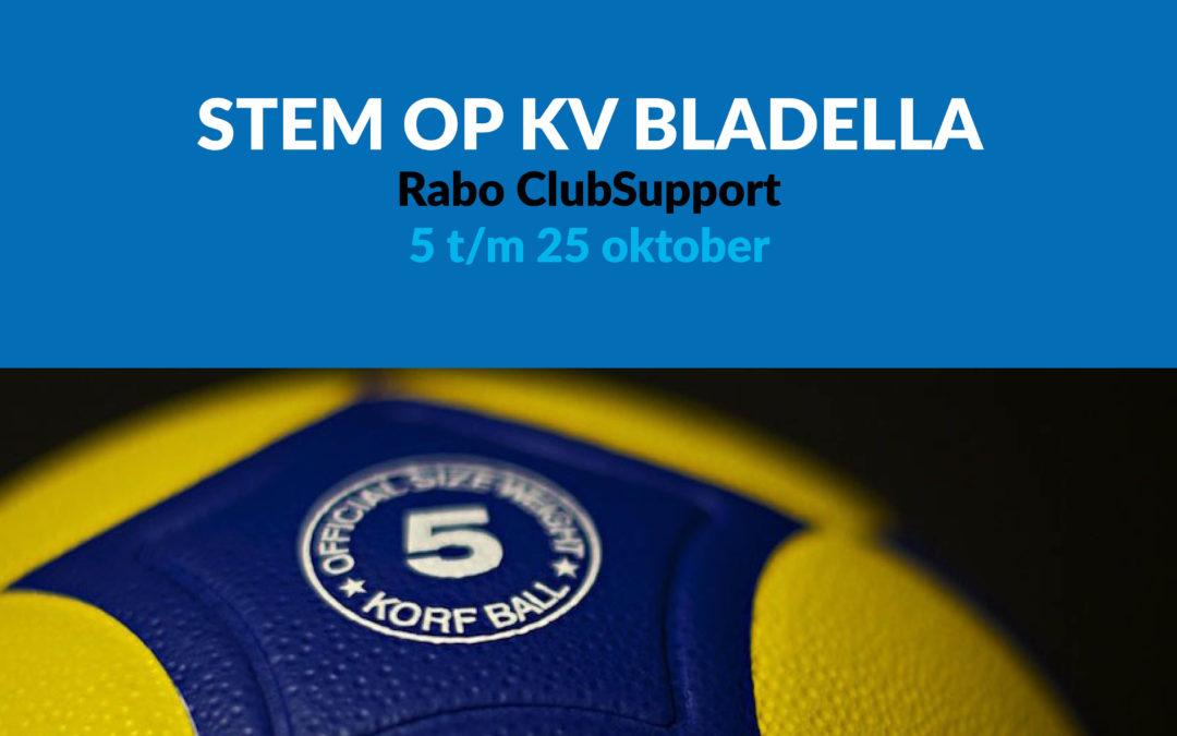 Stem op KV Bladella | Rabo ClubSupport